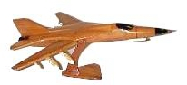 F-111 airplane model,  wooden model airplane wooden model aircraft, mahogany wooden model