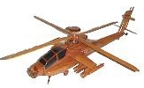 wooden model helicopter, ah64 apache wooden model helicopter