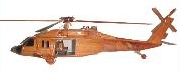 wooden model helicopter, uh-60 blackhawkwooden model helicopter