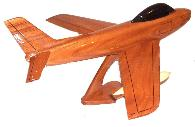 F-86 model airplanes, airplane models,  mahogany model airplane, wooden model airplane wooden model aircraft, mahogany wooden model