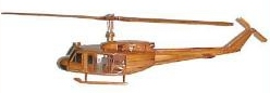 wooden model helicopter, Uh1 huey wooden model helicopter