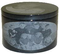 Laser Engraved Marble Photographs