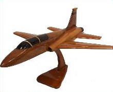 T-38 amodel airplanes, airplane models,  desktop mahogany model airplane, wooden model airplane wooden model aircraft, mahogany wooden model