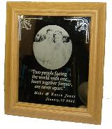 Laser Engraved Mirror Photographs