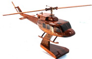 Bell 212 model ,Wood model Desktop model Natural wood model