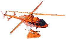 BELL 407 MODEL, BELL 407 WOOD MODEL, BELL 407 DESKTOP MODEL