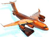 C-17 Globemaster wood airplane model, wooden airplane model