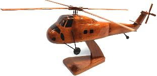 wood wooden Ch-34 Choctaw Model