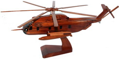 CH53 Stallion model CH\53 WOOD MODEL, DESK TOP MODEL , NATURAL WOOD MODEL