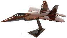 F-22 Model, Wood Airplane model