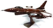 F-16 Airplane model, Wood  airplane model