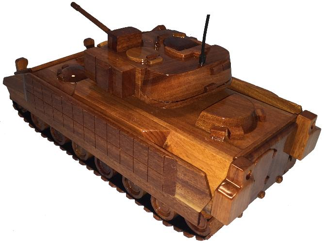 M2 Bradley APC Natural wood model