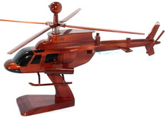oh-58 D KIOWA MODEL,  OH58D WOOD MODEL DESKTOP MODEL NATURAL WOOD MODEL