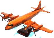 P3 Orion wood model, P3 Orion model airplane