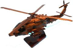 SH60R WOOD HELICOPTER MODEL