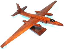 u-2 Spy Palne wood model