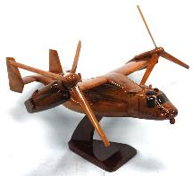 V22 Airplane Model, V22 Model, V22 Wood Model