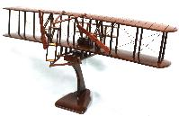 1093 wright flier model wood airplane