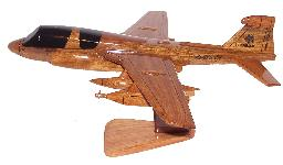 EA6B Prowler wood model