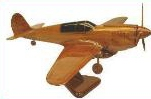 P-40 Warhawk model airplanes, airplane models,  desktop mahogany model airplane, wooden model airplane wooden model aircraft, mahogany wooden model