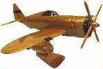 P-47 Thunderbolt model airplanes, airplane models,  desktop mahogany model airplane, wooden model airplane wooden model aircraft, mahogany wooden model