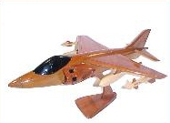 AV-8 Harrier model airplanes, airplane models,  mahogany model airplane, wooden model airplane wooden model aircraft, mahogany wooden model